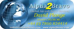 Alpha2Bravo Global Aircraft Delivery
